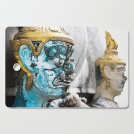 Buddhist Temple Demon Cutting Board