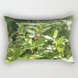 Underbrush wonders in the forest Rectangular Pillow
