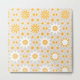 Pivot Star Pattern  Metal Print