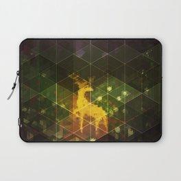 Deer in the woods Laptop Sleeve