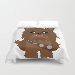 Chewbacca the Yorkie Duvet Cover