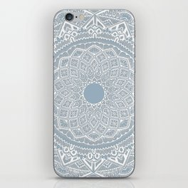 Dedication to Dalton (gray-blue) iPhone Skin