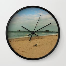 Day at the Beach Wall Clock