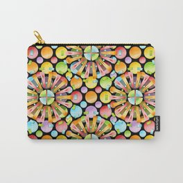 Candy Rainbow Mandala Carry-All Pouch