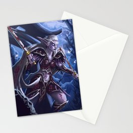 Fighting for her people Stationery Cards
