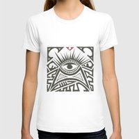all seeing eye T-shirts featuring All seeing eye by Andready