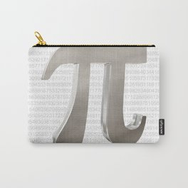 Cute metal pi sign Carry-All Pouch