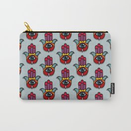 Pop Hamsa Carry-All Pouch