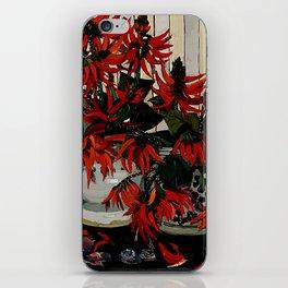 """Coral Flowers"" by Australian Artist Margaret Preston iPhone Skin"