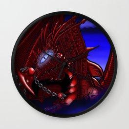 Dragon reborn Wall Clock