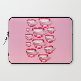 bedazzled tongue Laptop Sleeve