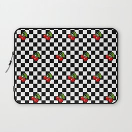Checkered Cherries Laptop Sleeve