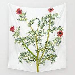 Spring Partridge eye Wall Tapestry