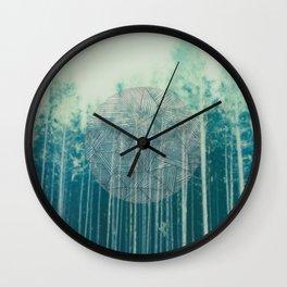 deepforest Wall Clock