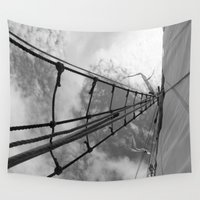 sail Wall Tapestries featuring Sail  by mckaylee reavis