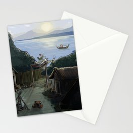 Norse Village Stationery Cards