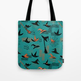 Halloween Witch Hats Tote Bag