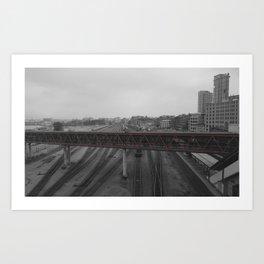 TrainWreck Art Print