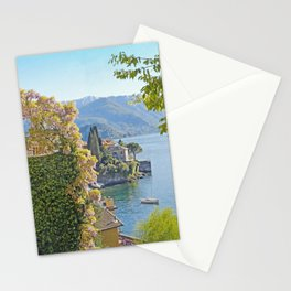 Varenna Vista, Lake Como Stationery Cards