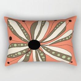 FLOWERY LAURA  / ORIGINAL DANISH DESIGN bykazandholly   Rectangular Pillow