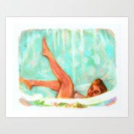 Lili St. Cyr Art Print