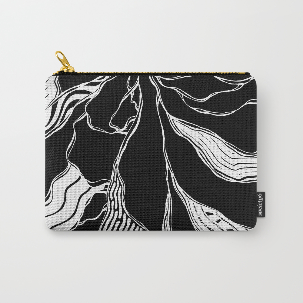 Winding Roots Carry-all Pouch by Adamatilda CAP8998229