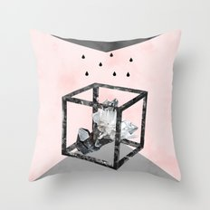 Quartz 2 Throw Pillow