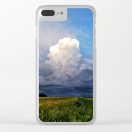 Storm's A Brewin' Clear iPhone Case