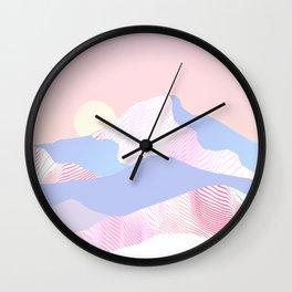 Dune Sun Wall Clock