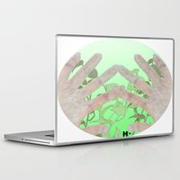 bag Laptop & iPad Skins featuring Bag by Art Barf