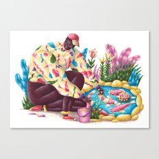 Pondfish Canvas Print