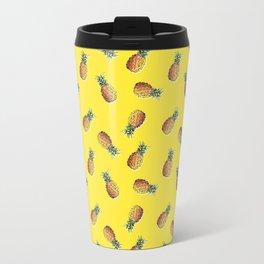 abacaxi yellow Travel Mug