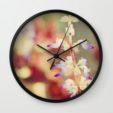 Autumn garden Wall Clock