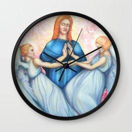 Magdalene, saint Mary Magdalene, Renaissance Wall Clock