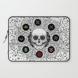 Side Effects Inverted Cover Art Laptop Sleeve