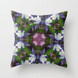 Bartram's Blossom Throw Pillow