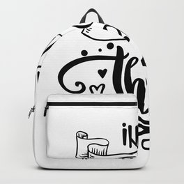 In All Things Give Thanks Backpack