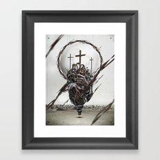 Crusader Framed Art Print