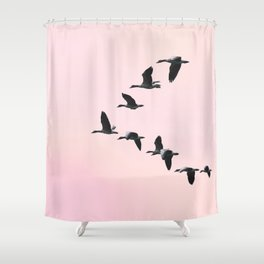 the journey °3 Shower Curtain