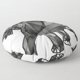Geometric Giant #1: Elephant Floor Pillow