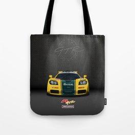 1995 McLaren F1 GTR Le Mans - Harrods Livery Tote Bag