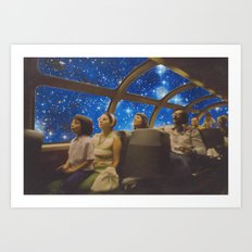 Space Holiday Art Print