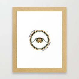 Iridescent Jumper Framed Art Print