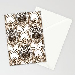 Hamsa Hand - Symbol of Protection Stationery Cards