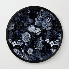 EXOTIC GARDEN - NIGHT VII Wall Clock