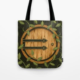 In a hole in the ground Tote Bag