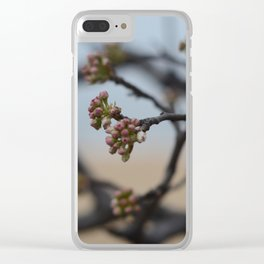 New Flowers Clear iPhone Case