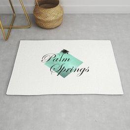 Palm Springs Style Rug
