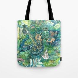 Emerald Wisdom Tote Bag
