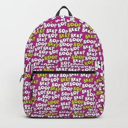 Beep Boop Bop Beep Backpack